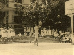 School History 1961, Basketball Court 01