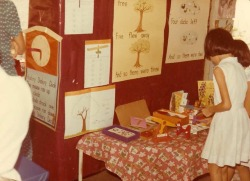 School History 1972, showcasing work done in English
