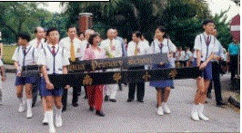 School History 1998, Moving to the new school building