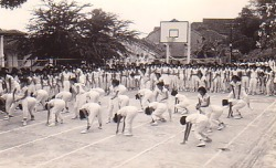 School History 1961, Basketball court 02