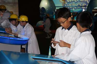 NEWater Scientist Programme at NEWater Visitor Centre (2014)
