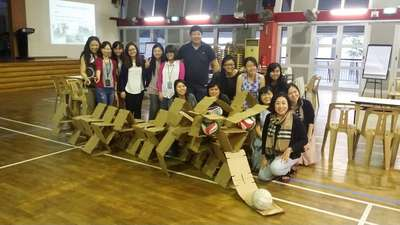 SG50 Sculpture Workshop for teachers